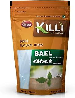 KILLI Bael   Vilvam   Bilva   Maredu   Aegle marmelos   Bilvapatre Leaves Powder, 100g
