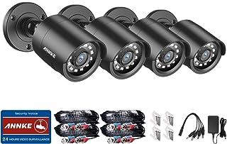 ANNKE 4-packed 720P Cámara de seguridad HD-TVI 1280TVL hi-r