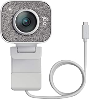 Logitech StreamCam, Live Streaming Webcam, Full 1080p HD 60fps Vertical Video, Smart auto Focus and Exposure, Dual Camera-...