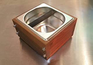RöstHaus Knock Box - Walnut and Stainless