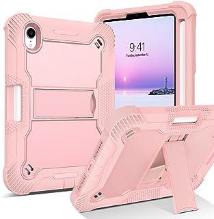 BENTOBEN iPad Mini 6 Case, iPad Mini 6th Generation Case with Pencil Holder 3 in 1 Heavy Duty Rugged Shockproof Kickstand ...