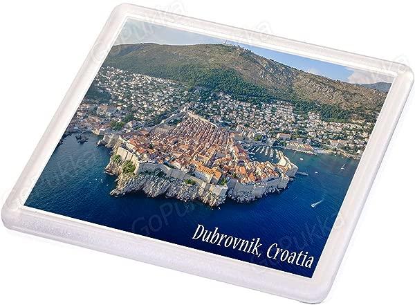 Dubrovnik Croatia Old Town Souvenir Coaster