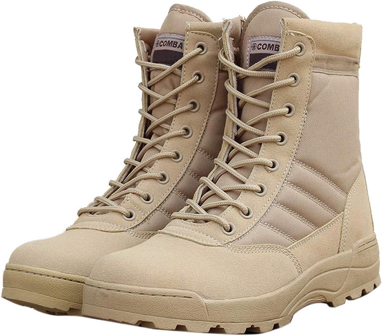 DANDANJIE Men And Women Hiking Boots Training Outdoor Boots High-Top Desert Boots