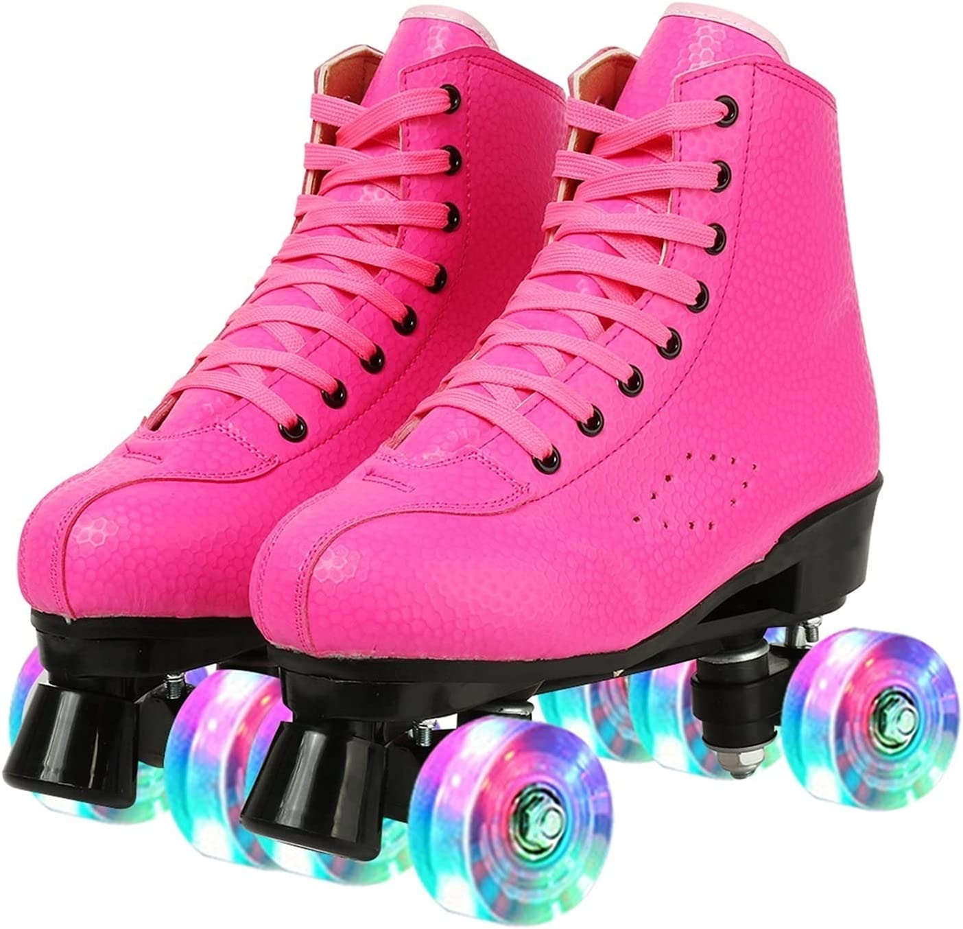 Womens Roller Skates PU F High-top Leather Some reservation Premium 2021 autumn and winter new