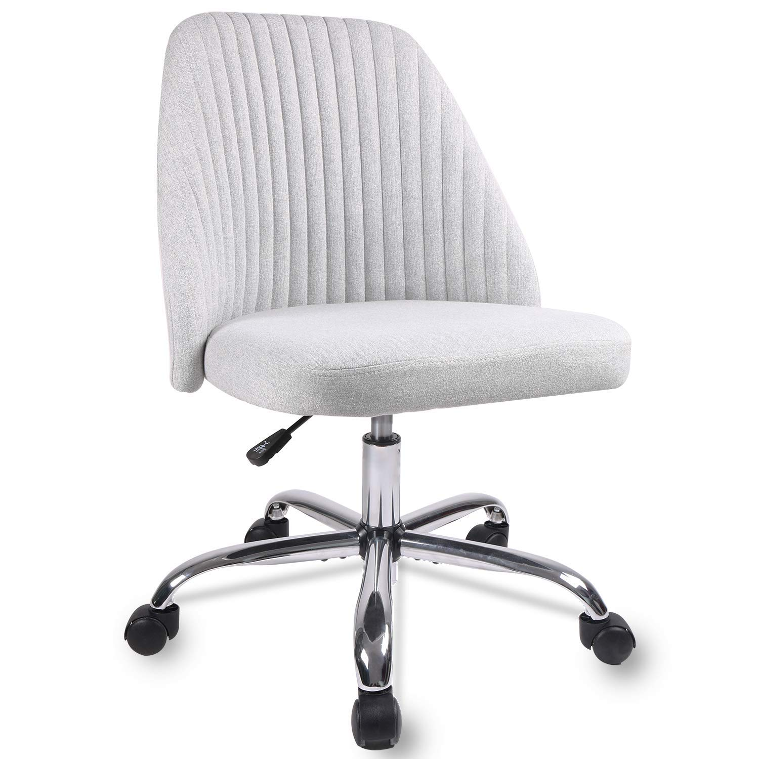 Smugdesk Ergonomic Adjustable Home Office Modern Twill Fabric Chair Gr Smugdesk