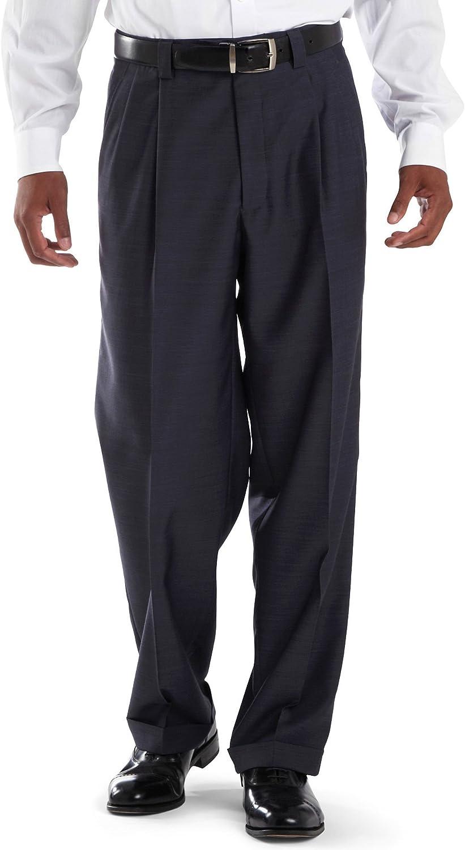 Steve Harvey Men's Solid Regular Fit Suit Seperate Pant