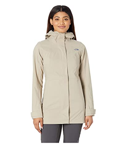 The North Face City Midi Trench (Crockery Beige) Women