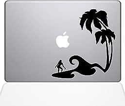 "The Decal Guru Surfer Paradise Decal Vinyl Sticker, 13"" MacBook Pro (2015 & Older Models), Black (1450-MAC-13P-BLA)"