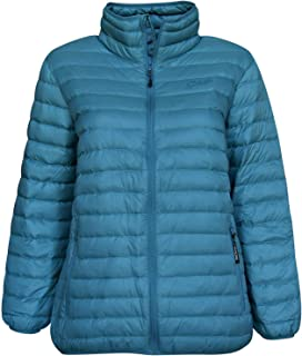 3d4e5e56be989 SportCaster Women s Plus Size Packable Down Jacket