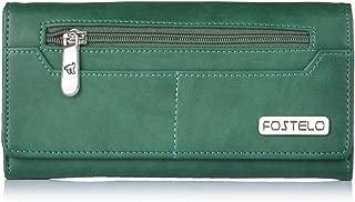 Fostelo Women's Versatile Two Fold Wallet (Green)