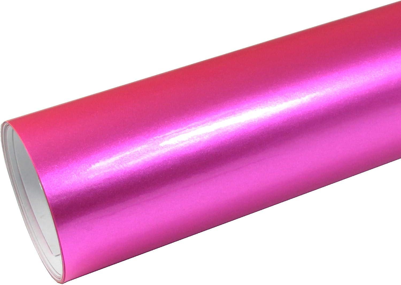 Rapid Teck 8 55 M Autofolie Serie Z560 Candy Pink Hochglanz 1m X 1 52m Rosa Selbstklebende Premium Car Wrapping Glanz Folie Mit Luftkanal Baumarkt