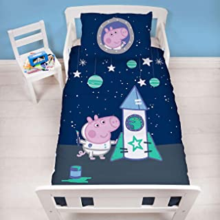 Peppa Pig George Boom Junior Toddler Duvet Cover Set