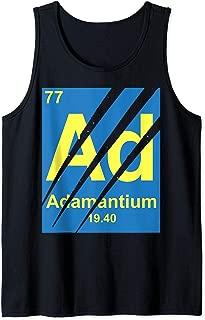 Marvel Wolverine Adamantium Claw Marks Logo Tank Top