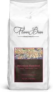 Flavorbean Hawaiian Hazelnut, 100% Arabica Coffee, Chemical Solvent Free, Ground, 12 Ounce