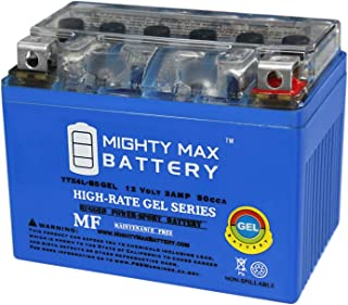 Mighty Max Battery YTX4L-BS 12V 3Ah Gel Battery for 1984-85 Honda Scooters NQ50 Spree Brand Product