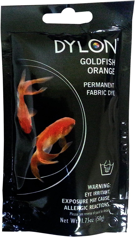 Dylon Max 82% Regular discount OFF 87055 Permanent Fabric 1.75-Ounce Dye Orange Goldfish