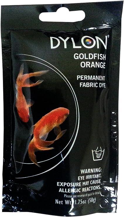 DYLON permanente tessuto tintura 1,75 once-pesce rosso ...