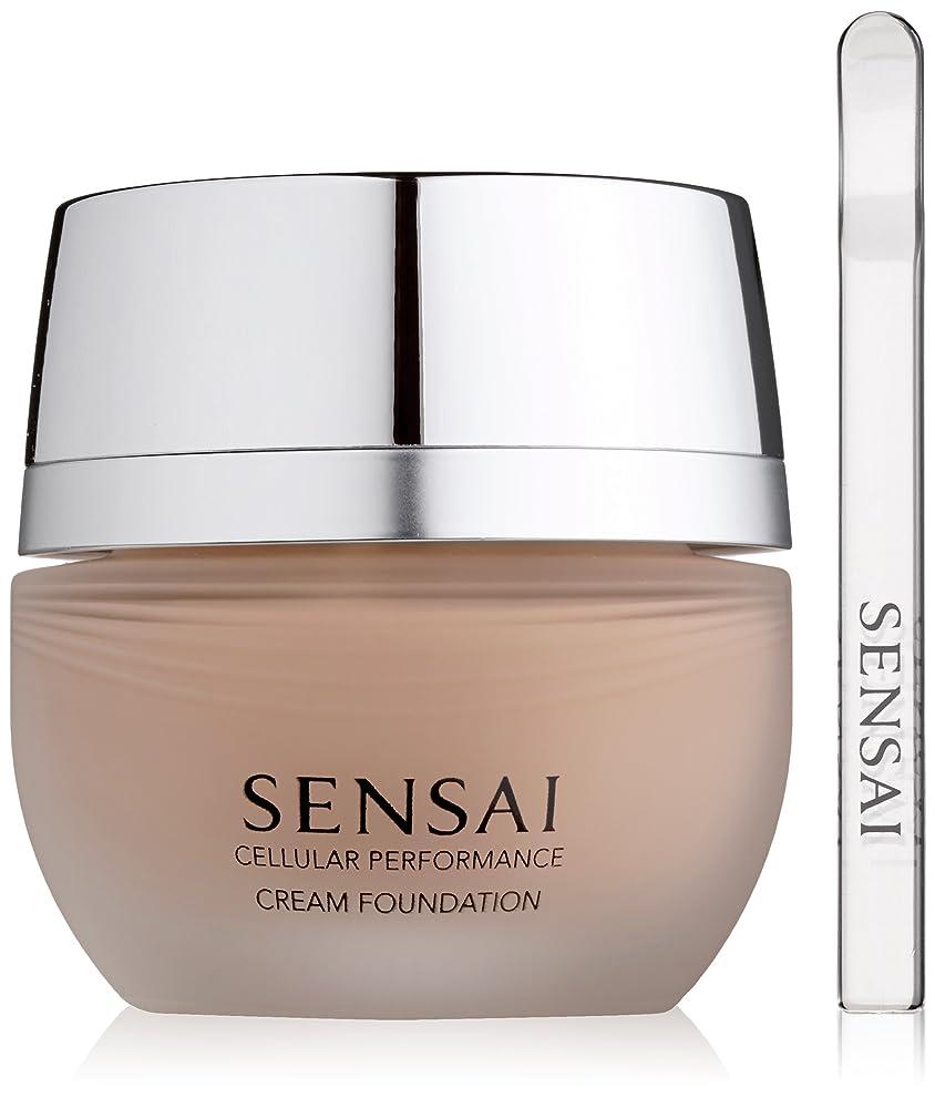 核め言葉顕微鏡Sensai Cellular Performance Cream Foundation CF13 Warm Beige 30ml