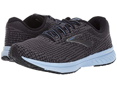 Brooks Revel 3 (Ebony/Black/Bel Air) Women