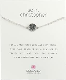 Dogeared - St. Christopher Chain Bracelet