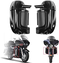 Areyourshop Lower Vented Leg Fairings Glove Box For Harley Road Street Electra Glide 1983-13