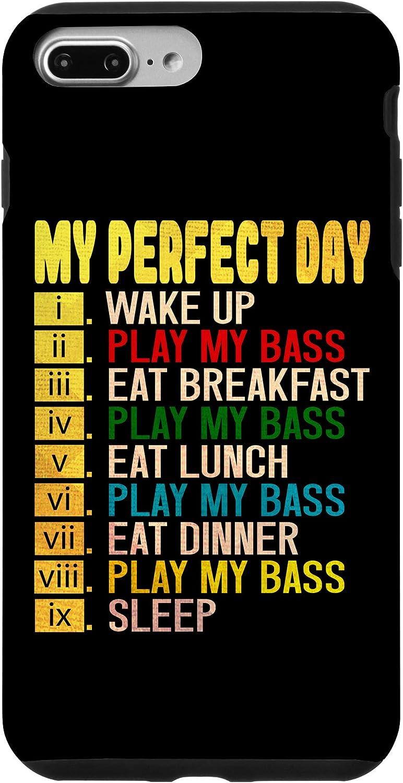 iPhone 7 Plus/8 Plus Bass Guitar Player Bassist Music Musician Perfect Day Men Case