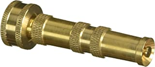 TRUE VALUE 80114-GT Solid Twist Nozzle, Brass and Black