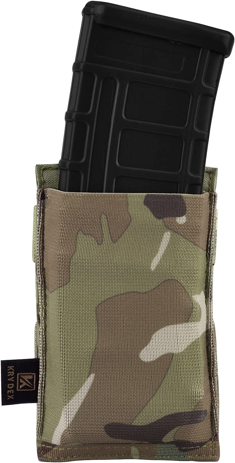 KRYDEX Molle 5.56mm Single Double Magazine Pouch Triple Spee It National uniform free shipping is very popular