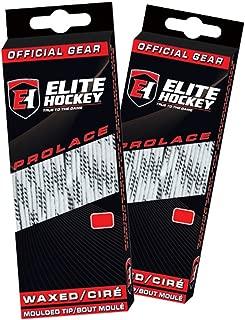 Elite Hockey Prolace Waxed Hockey Skate Laces - Set of 2 Pairs