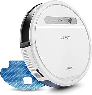 【細菌除去率99%】エコバックス ECOVACS DEEBOT OZMO 615 床拭きロボット掃除機 フローリング/畳/カーペット掃除 水拭き対応 モップ付け 自動拭き掃除 Alexa対応 スマホ連動