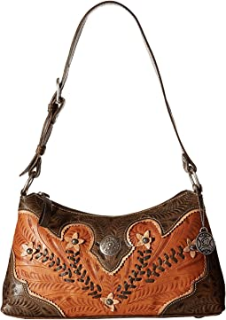 American West - Desert Wildflower Shoulder Bag