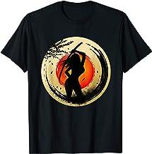 Female Sun Samurai Warrior Japanese Bushido Samurai T-Shirt