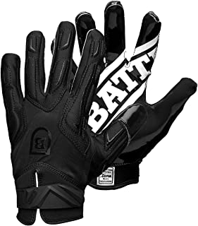 Battle Warm Winter Football Gloves – Ultra-Tack Sticky Palm Receivers Gloves with Fleece Lining – Pro-Style Receiver Gloves, Adult