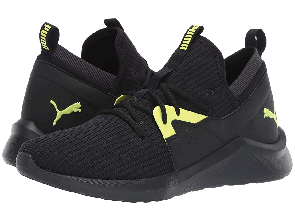 PUMA Emergence Future (Puma Black/Charcoal Gray/Fizzy Yellow) Men
