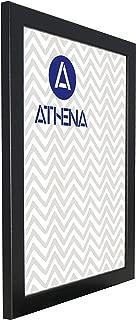Athena Black Ash Ready Made Picture Photo Frame, 35 x 50 cm