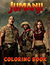 Jumanji Coloring Book: A Cool Coloring Book With Many Illustrations Of Jumanji For Fans of All Ages To Relax And Relieve S...