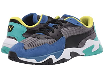 Puma Kids Storm Origin (Big Kid) (Galaxy Blue/Castlerock) Boys Shoes