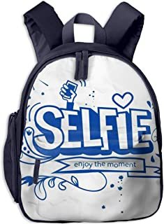 Mochilas Infantiles, Bolsa Mochila Niño Mochila Bebe Guarderia Mochila Escolar con Fun Take Motivation Quote para Niños De...