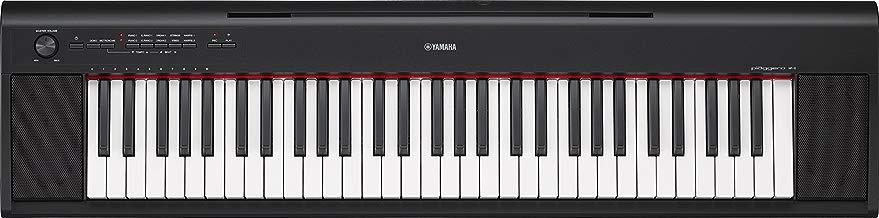 YAMAHA NP-12B - Teclado Electrónico con 61 Teclas, Negro