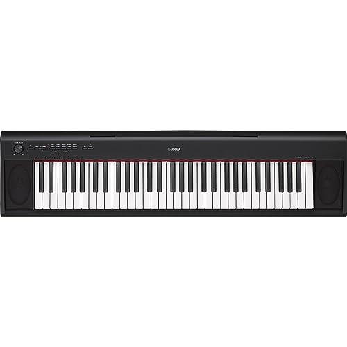 Yamaha NP-12B - Teclado electrónico (61 teclas, 64 voces de polifonía,