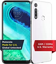 Moto G Fast | Unlocked | Made for US by Motorola | 3/32GB | 16MP Camera | 2020 | White (Renewed)