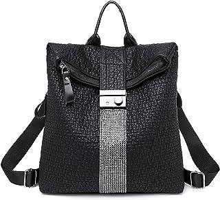 LOVE LABINI Damen Rucksack große Kapazität retro weichem Leder Rindsleder Mode Schultern Tasche Diebstahlsicherung wasserd...