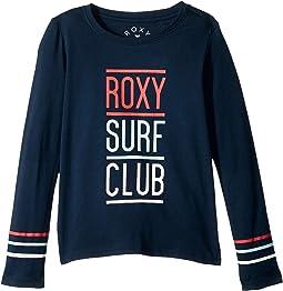 Roxy Kids - Lost in Dream Roxy Surf Club Long Sleeve Tee (Big Kids)