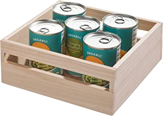 iDesign Eco Wood Bin, Natural