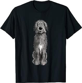 Happy Irish Wolfhound T-Shirt I Cool Dog Breed Tee I Gift