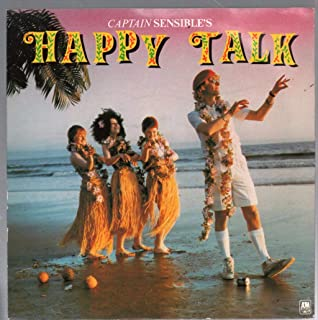 Happy Talk - Picture sleeve