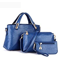 E-SHOW TREE 3-Piece Women's Leather Handbag Set