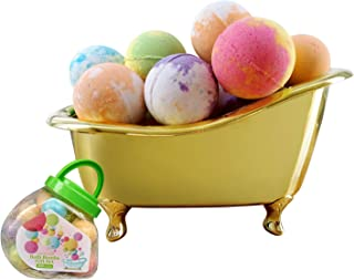 Organic Bath Bombs Gift Set with 20 Packs Natural Bath Bombs, Funny Moisturizing Bath Bombs for Kids with Rich Foam, Handmade Bath Bombs Gift Set for Birthday , Mother's Day and for Kids