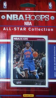 2014 2015 Hoops NBA All Stars Collection Special Edition Factory Sealed Basketball Set with Lebron James Stephen Curry and More