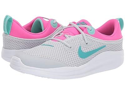 Nike Kids ACMI (Little Kid) (Pure Platinum/Cabana/Laser Fuchsia) Girls Shoes
